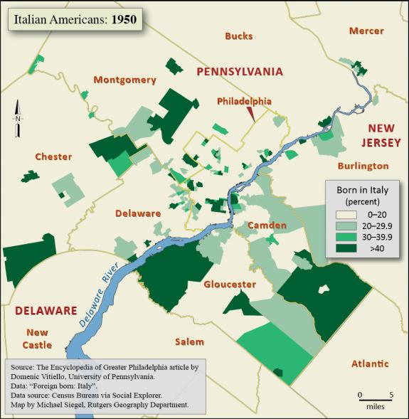 Italians And Italy Encyclopedia Of Greater Philadelphia