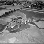 An aerial photograh of the Carson College for Orphan Girls from 1922.