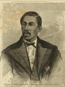 Sketch of Octavius Catto