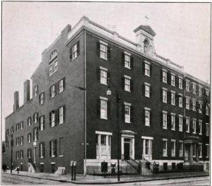 A photo from 1914 of the St. Joseph's Orphan Asylum in Philadelphia.