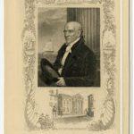 An engraving of Stephen Girard.