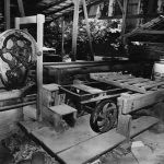 Photograph of abandoned brick factory