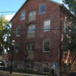 Photograph of brick building formerly used b Doylestown Agricultural Works