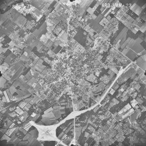 Aerial photograph of Doylestown