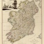 Map of Ireland published in 1797