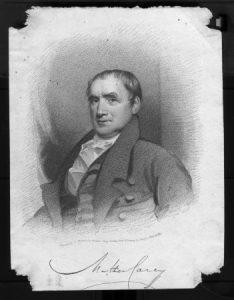 Portrait of Mathew Carey