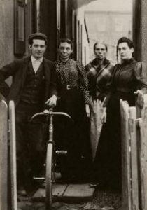 Photograph of the Magee family