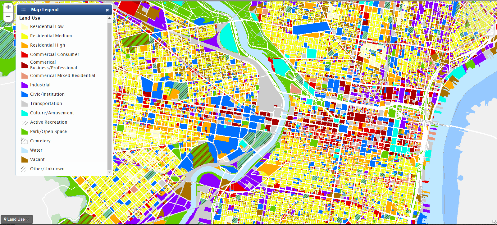 Land Use Map Land Use Map | Encyclopedia of Greater Philadelphia