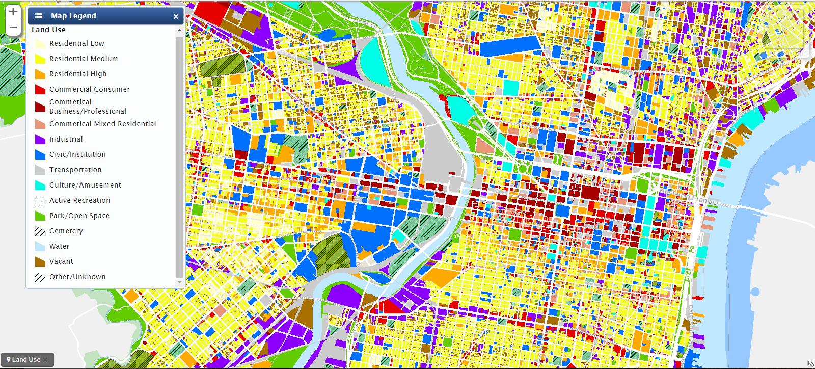 Land Use Map Land Use Map | Encyclopedia of Greater Philadelphia