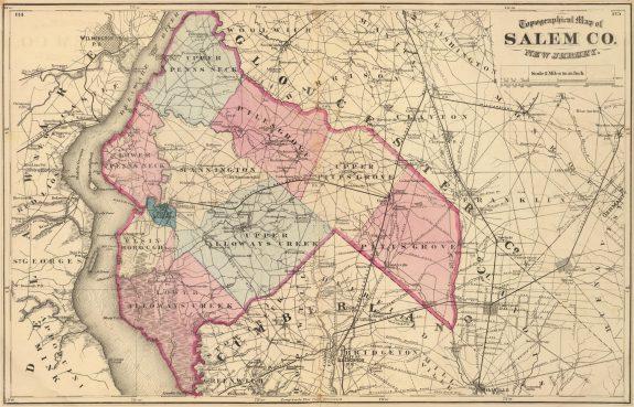 Salem County New Jersey Encyclopedia Of Greater