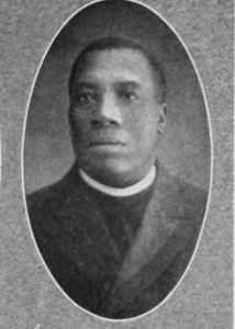 a black and white portrait of Rev. Charles A. Tindley