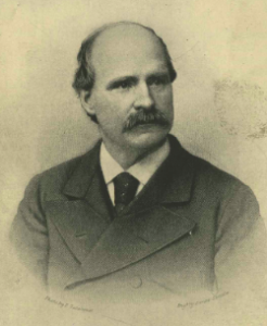 a black and white portrait of Anthony J. Drexel.