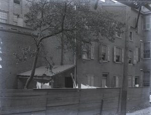 Photograph of house where Poe lived