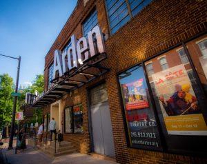 Color photograph showing facade of the Arden Theatre.