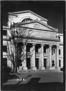 The second courthouse for Delaware County.