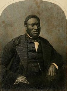 Portrait of Samuel Ringgold Ward from the cover of his autobiography.