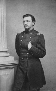 Photograph of the Civil War cavalry officer General Lewis Merrill.