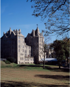 Exterior photograph of the Mercer Museum.